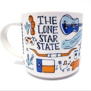 Starbucks Texas Art 'Been There' Collectable Mug.